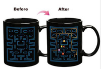 Pacman Ceramic Mug Pac-Man Heat Changing Mug -300ml