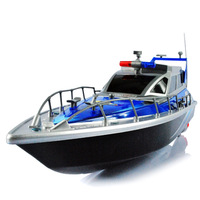 Free shipping Hengtai remote control airship police remote control boat remote control boat toy speedboat  wholesale