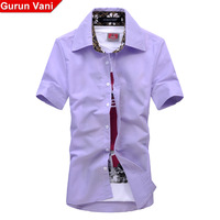 19.9 2013 summer new arrival casual shirt slim male short-sleeve shirt male