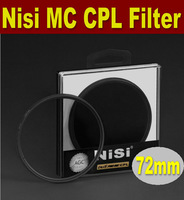 Free shipping 72mm NISI multi-coating ultrathin PRO MC CPL,Circular Polarizing CPL Camera Lens Filter