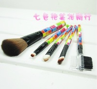 cosmetic brush 5 piece set eye shadow brush lip brush eyebrow comb blush brush