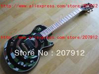Free shipping new arrival Chinese guitar factory Custom Shop Zakk Wylde Signature Camo Bullseye Electric Guitar Wholesale price