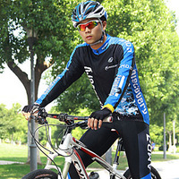 Summer long-sleeve ride service long-sleeve set ride service male ride bicycle clothing set