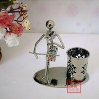 Fashion home decoration supplies crafts - erhu pen personalized pen holders