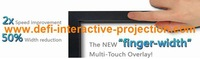 42 Inch Dual touch IR Touch Overlay Frame Panel best price