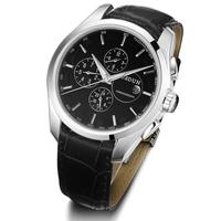 Classical JSDUN 6 Hands Date Digital Steel Case Genuine Leather Strap Relogio Masculino Men Mechanical Men Sports Watch 8696