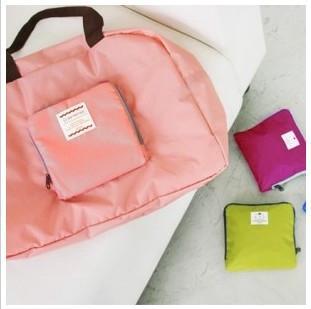 Wholesale New Fashion Foldable shopping Bag,Traveling Bag,Wash Package Waterproof Nylon Bag large capacity shopping Bag RJ1486