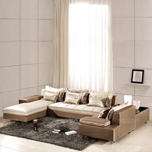 modern furniture designer Good power house minimalist living room sofa fabric sofa grade silk fabric(China (Mainland))
