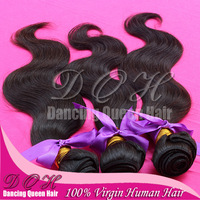 virgin brazilian hair 10pcs(1 kilo)/lot,free shipping, brazilian virgin Body Wave human hair extension,hair weft,hair weave