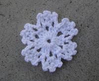 wholesale 50pcs /lot 5cm vintage crochet cup mats round motif doilies Crochet Applique headband flowers boutique handcraft
