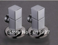 free shipping good quality 10 years guarantee brass material with chrome plating finish 1/2 angle valve
