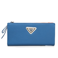 For oppo   women's handbag 9001 fashion color block embossed cowhide wallet women's handbag 2013