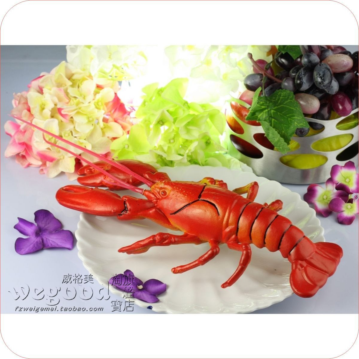 Lobster decorations promotion online shopping for for Animals that are included in the cuisine of seafood