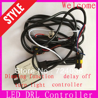 Car led DRL Relay Daytime Running Light Relay Harness Auto Car Controller On/Off Switch