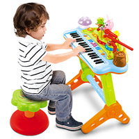 Department of music gustless 669 child baby multifunctional music combination educational toys violin electronic piano