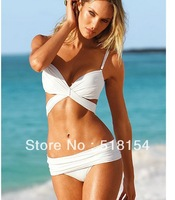 summmer   newest  Fashion bikini swimwear female white and black S/M/L  free  shipping