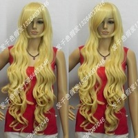 Wholesale Imitation human made Wig themagister cos wig gold 1 meters