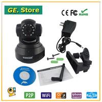 Freeshipping 720p Wanscam 32GB TF card HD N-vision Plug&Play(p2p) H.264 network ip cam wireless ip camera surveillance