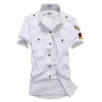 2013 male short-sleeve shirt armbandand slim casual short-sleeve shirt 216 dc04 p35