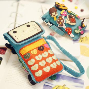 Material kit calculator mobile phone bag handmade diy mobile phone case material kit