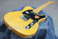 Free shipping HOT ! tele guitar High Quality Custom 52 Yellow Tele Electric Guitar Ameican Sandard Telecaster in stock