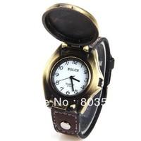 10pcs/lot 2013 characteristic fashionalbe eagle patterm Men's Quartz Wrist Watch Black Leather Watchband wristwatch luxury gift