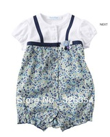 2013 hot sell high quality Baby summer romper  baby one-piece Baby  Rompers3030