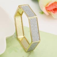Vintage scrub geometry shaped bangles bracelet fashion summer accessories