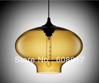 "Hot selling Niche Modern glass pendant ,Oculo Modern Pendant Light (10""dia x 8""H"")"