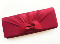 2013 NEW  elegant bow tie day banquet bag clutch bag bridal bag bridesmaid evening bag red and blue