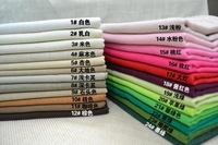 Free shipping 10pieces 50cm*70cm natural linen fabric,DIY Patchwork Fabric,Cotton Linen Fabric Solid fabrics