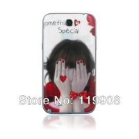 Luxury Something Special Girl Pattern Battery Cover Back Housing for Samsung Galaxy Note 2 N7100