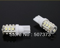 25ag 2X SUPER WHITE T10 WEDGE LED LIGHT BULBS 1206 SMD 13LED  0.8w - auto moto -  automobiles motorcycles lights