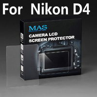 MAS Self-Affixed LCD Screen Protector glass for Nikon D4 Special LCD protection screen,Optical glass support touch