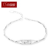 Cs silver 520 925 pure silver bracelet silver women's bracelet gift accessories jewelry