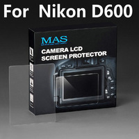 MAS Self-Affixed LCD Screen Protector glass for Nikon D600 Special LCD protection screen,Optical glass support touch