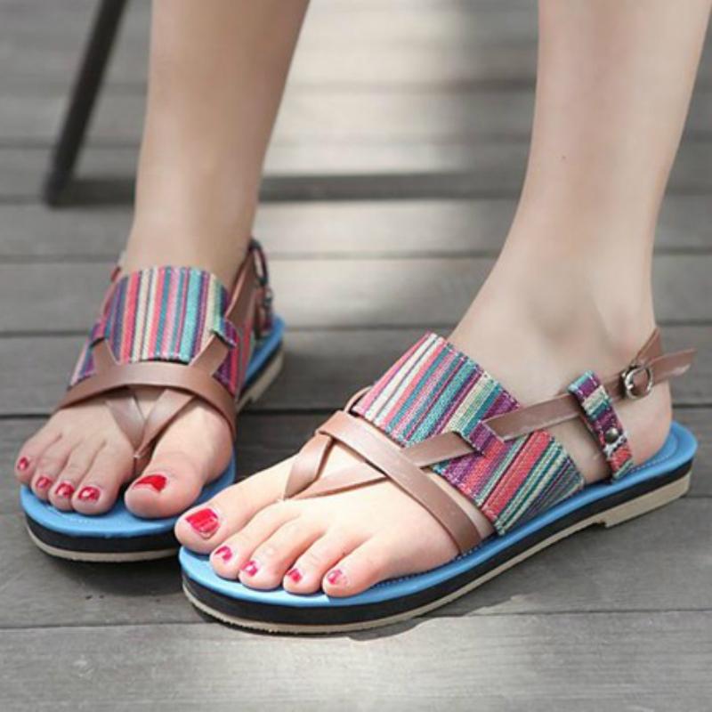 Lastest Unze Flat Sandals Winter Collection 2013 For Women 006