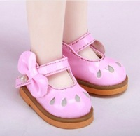 Free shipping 1/6 high quality fashion cute baby doll shoes
