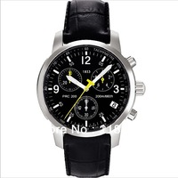 Free Shipping Brand New Mens Date T Sport PRC200 1853 Chronograph Watch T17.1.526.52 Men Leather Watches