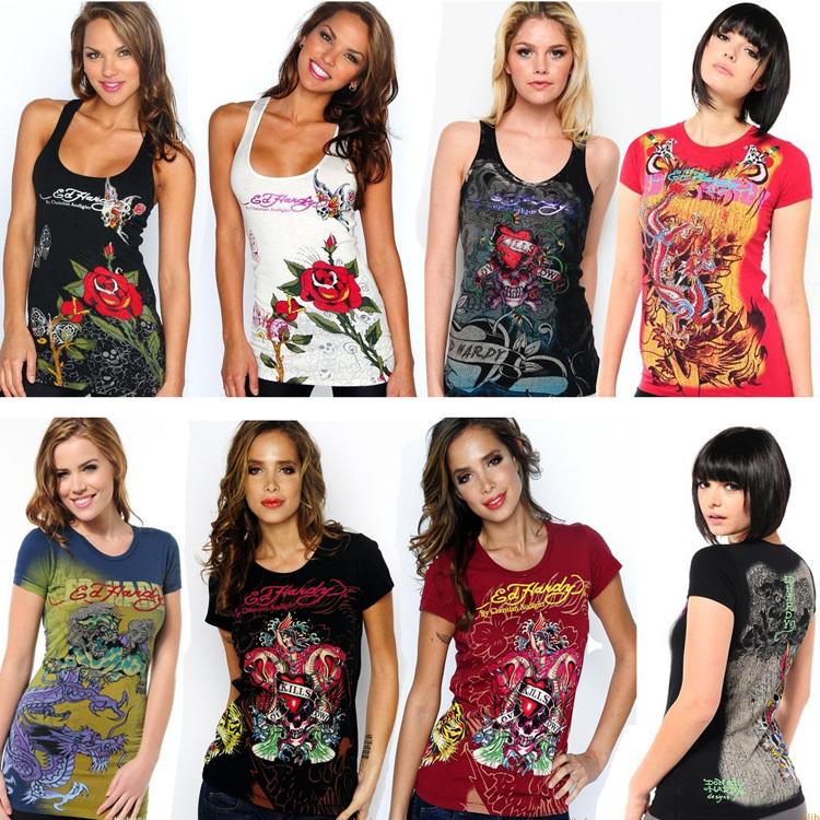 T Shirt Design Ideas Pinterest creative t shirt designs 2 Fashion Design Discount Brand Womens T Shirt Tops Ed Hardy Women Round Neck T Shirts Plus Size Xl Panther Head Free Shipping