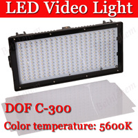 DOF C-300 LED Video Light For Canon Nikon Camera DV Camcorder Lamp + Freeshipping