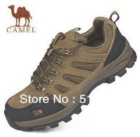 Hot Sale Free shipping Couple sports camel hiking shoes outdoor waterproof shoes men/women's shoes 3186