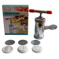 Aluminum alloy pressing machine heluo 6 big function pasta good helper for noodles maker