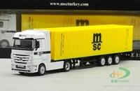 1:8 7 Ben container container trucks MSC Mediterranean Sea shipping model