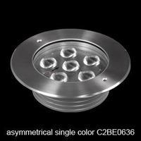 Free Shipping wholesale DC 24v  12W  Asymmetrical high power  aluminum LED   undergound lamps