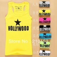 1 PCS Free Shipping Promotions Latest Fashion Female Condole Belt Vest TANKS Sleeveless T-Shirt Of Woman