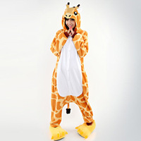 Free Shipping Kigurumi Pajamas All In One Pyjamas Animal Suits Cosplay Costume Adult Onesies