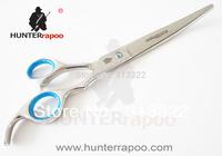 "HUNTERRAPOO 8""Brand pet shear  Scissors,Barber Scissors,Hair Beauty Cutting Shears,Bent Razor Scissors,JP 440C"