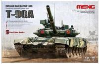 Meng model TS-006 1/35 RUSSIAN MAIN BATTLE TANK T-90A plastic model kit