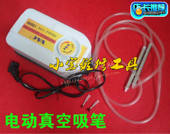 Automatic vacuum suction pen 12000 electric suction pen Mounter electric suction pump suction pen type 2 straws 2